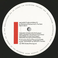 Orchestral Manoeuvres In The Dark : Architecture & Morality (LP, Album, Yel)