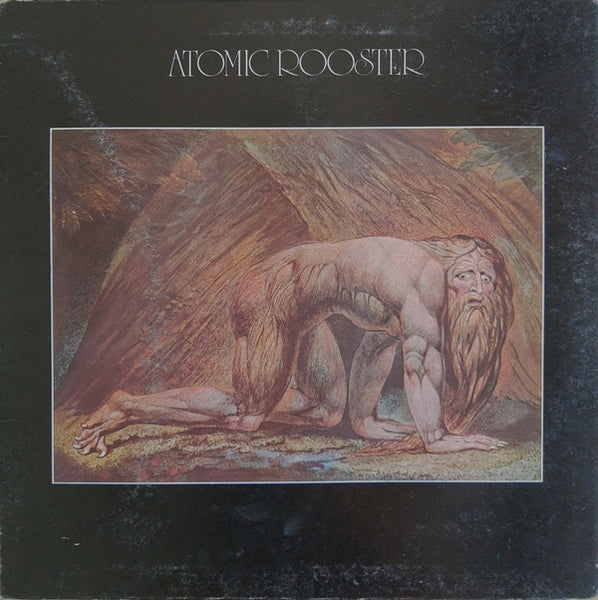 Atomic Rooster : Death Walks Behind You (LP, Album, Gat)