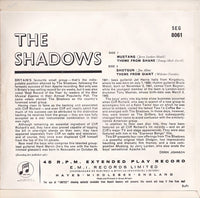 "The Shadows : The Shadows (7"", EP, Mono)"