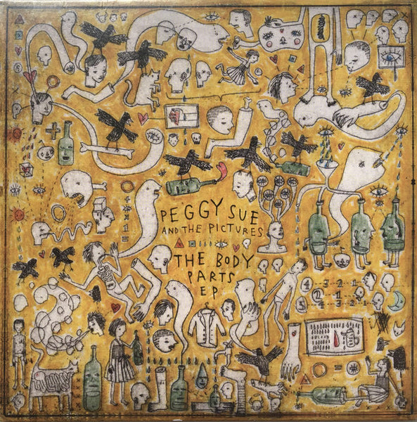"Peggy Sue And The Pictures : The Body Parts EP (2x7"", EP, Ltd)"