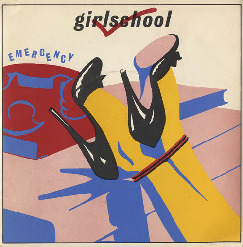 "Girlschool : Emergency (7"", Single)"