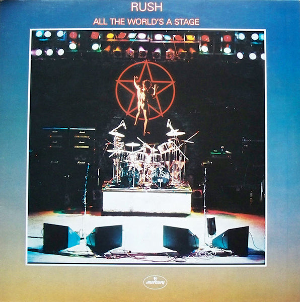 Rush : All The World's A Stage (2xLP, Album)