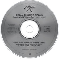 Jon Hassell : Dream Theory In Malaya (Fourth World Volume Two) (CD, Album, RE)