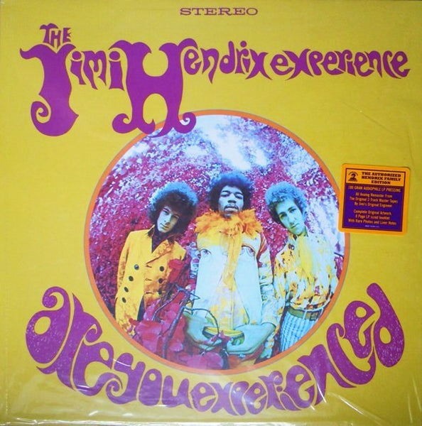 The Jimi Hendrix Experience : Are You Experienced (LP, Album, RE, RM, Gat)