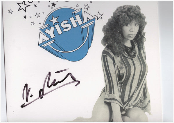 "Ayisha : Space Man (10"", EP, Ltd, Mul)"