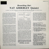 Nat Adderley : Branching Out (LP, Album, RE)