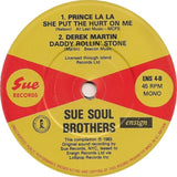 "Various : The Sue Soul Brothers (7"", EP, Comp, Mono)"