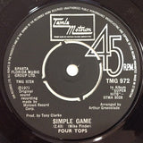 "Four Tops : Simple Game / Still Water (Love) (7"", Single, Pus)"