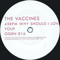 "R. Stevie Moore / The Vaccines : Post Break Up Sex / Why Should I Love You (7"", Single)"