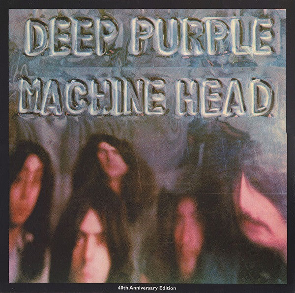 "Deep Purple : Machine Head (LP, Album, RE, RM, Gat + 7"")"