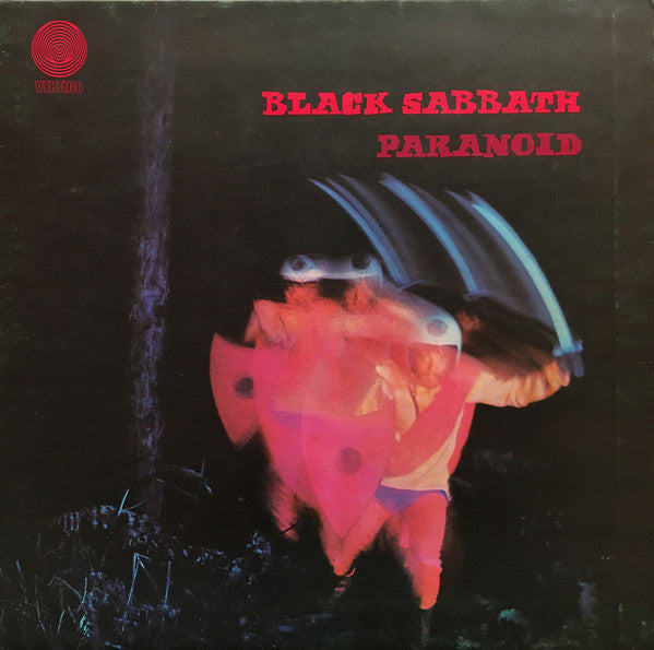 Black Sabbath : Paranoid (LP, Album, Gat)