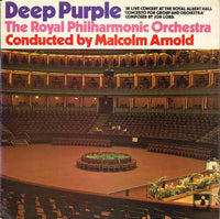 Deep Purple & The Royal Philharmonic Orchestra, Malcolm Arnold : Concerto For Group And Orchestra (LP, Album, Gat)