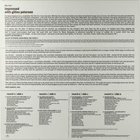 Gilles Peterson : Impressed With Gilles Peterson (2xLP, Comp)