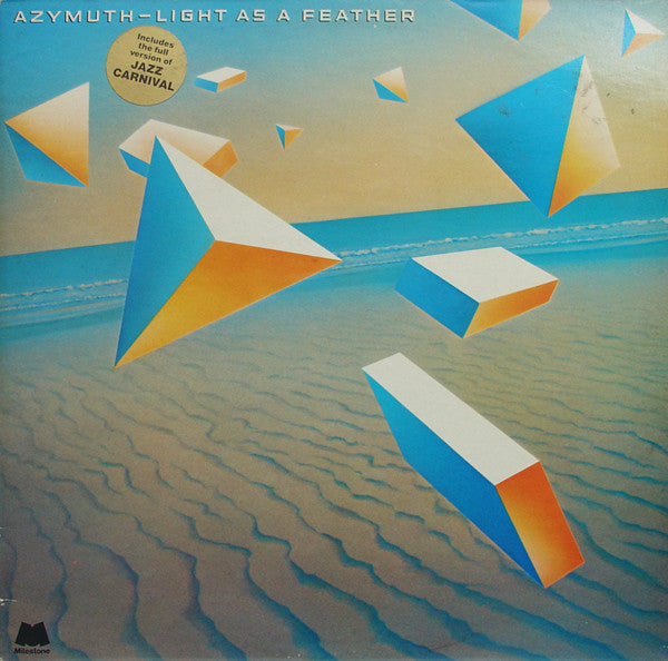 Azymuth : Light As A Feather (LP, Album)