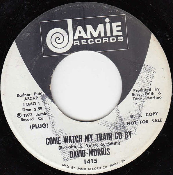 "David Morris (3) : Come Watch My Train Go By (7"", Promo)"