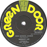 "Herbert Lee* / Tony's All Stars* : High School Dance / 'Dance' Version (7"")"