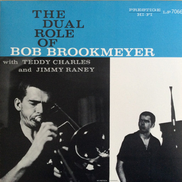 Bob Brookmeyer : The Dual Role Of Bob Brookmeyer (LP, Comp, Ltd, RE, RM)