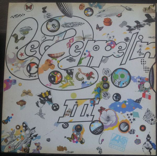 Led Zeppelin : Led Zeppelin III (LP, Album, Cel)