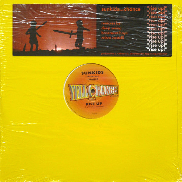 "Sunkids Featuring Chance : Rise Up (2x12"")"
