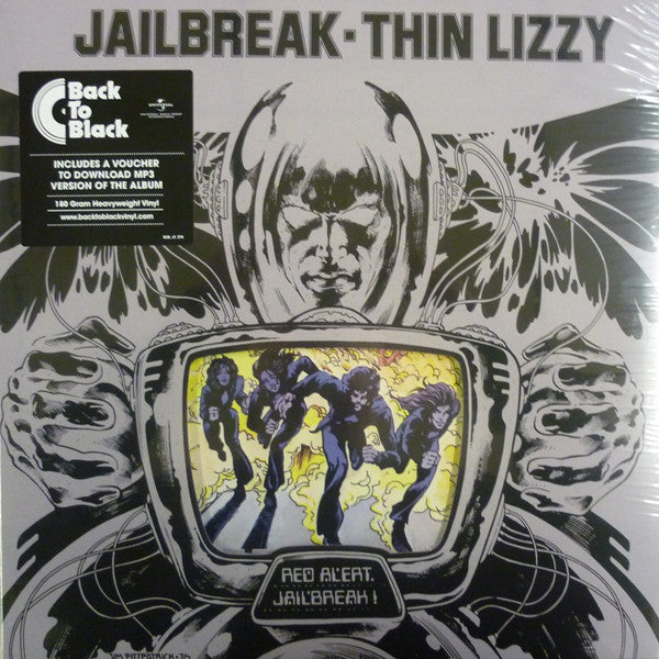 Thin Lizzy : Jailbreak (LP, Album, RE, 180)