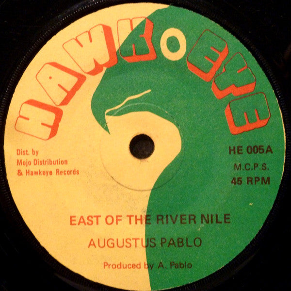 "Augustus Pablo / Pablo Experience : East Of The River Nile / East Africa (7"")"