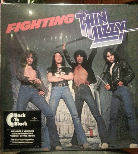 Thin Lizzy : Fighting (LP, Album, RE, 180)