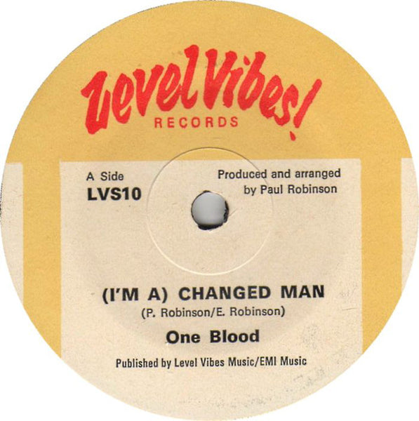 "One Blood : (I'm A) Changed Man (7"")"