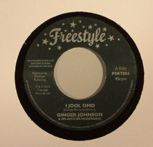 "Ginger Johnson & His African Messengers : I Jool Omo (7"", Single)"