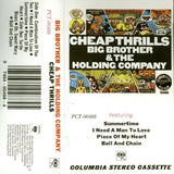 Big Brother & The Holding Company : Cheap Thrills (Cass, RE)