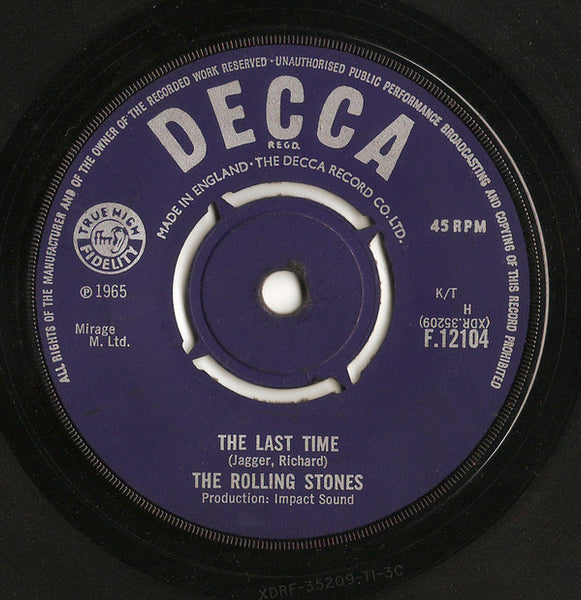 "The Rolling Stones : The Last Time (7"", Single, Pus)"