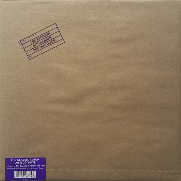 Led Zeppelin : In Through The Out Door (LP, Album, RE, RM, 180)