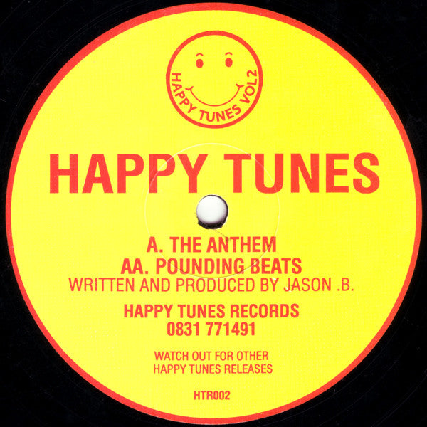 "Happy Tunes : Vol 2 - The Anthem / Pounding Beats (12"")"