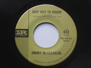 "Jimmy McCracklin : Just Got To Know / I Did Wrong (7"", Single, RE)"