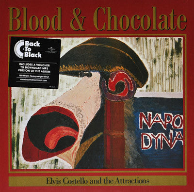Elvis Costello & The Attractions : Blood & Chocolate (LP, Album, RE, 180)
