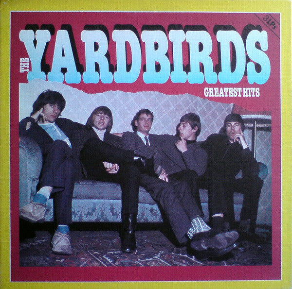The Yardbirds : Greatest Hits (3xLP, Comp + Box)