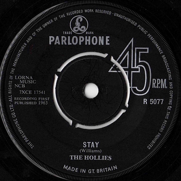 "The Hollies : Stay (7"", Single)"