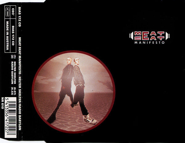 Meat Beat Manifesto : Helter Skelter / Radio Babylon (CD, Mini, Single)