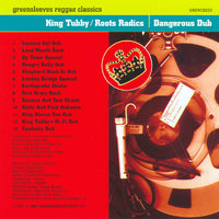 King Tubby Meets The Roots Radics : Dangerous Dub (CD, Album, RE)