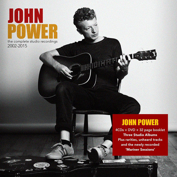 John Power : The Complete Studio Recordings 2002-2015 (CD, Album, RE + CD, Album, RE + CD, Album, RE + CD)