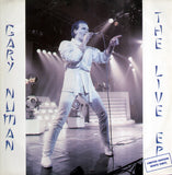 "Gary Numan : The Live EP (12"", EP, Ltd, Whi)"