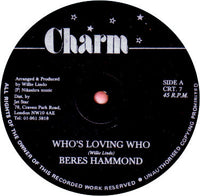 "Beres Hammond : Who's Loving Who (12"")"