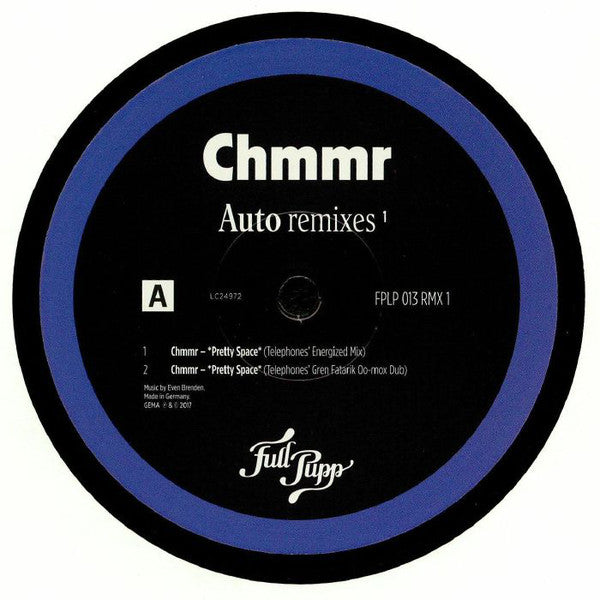 "Chmmr : Auto Remixes ¹ (12"")"