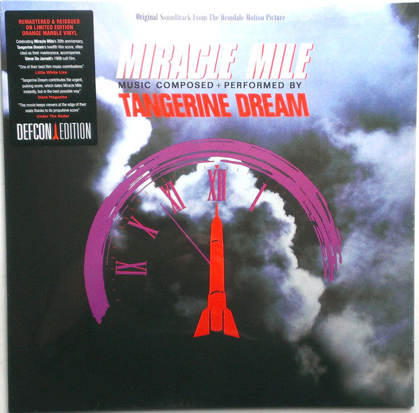 Tangerine Dream : Miracle Mile (LP, Album, Ltd, RE, RM, Ora)
