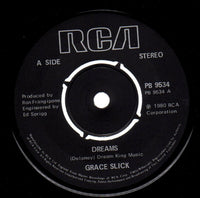 "Grace Slick : Dreams (7"", Single, Pic)"