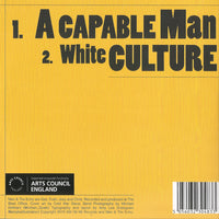 "Man And The Echo : A Capable Man/White Culture  (7"", Single)"