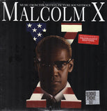 Various :  Malcolm X (Music From The Motion Picture Soundtrack) (LP, Album, Comp, RE, Red)