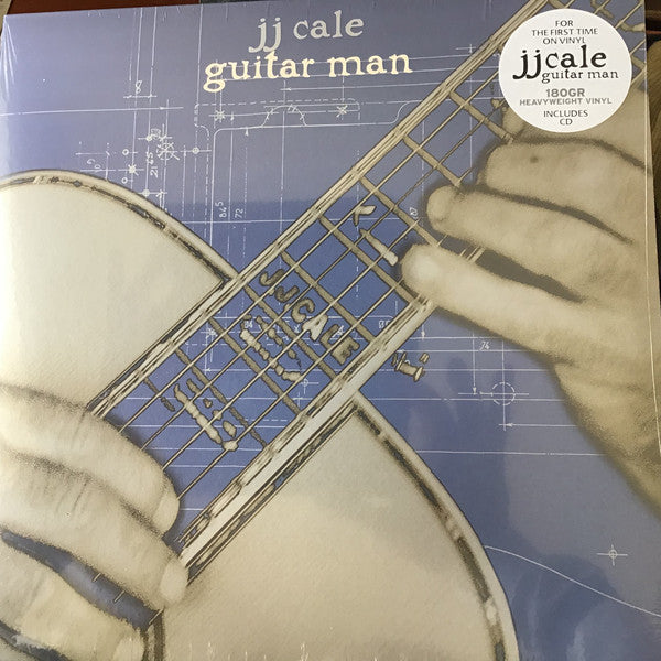 J.J. Cale : Guitar Man (LP, Album, RE, 180 + CD, Album, RE)