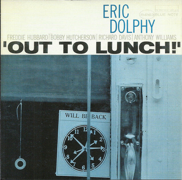 Eric Dolphy : Out To Lunch! (CD, Album, RE, RM)