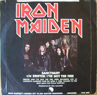 "Iron Maiden : Sanctuary (7"", Single)"
