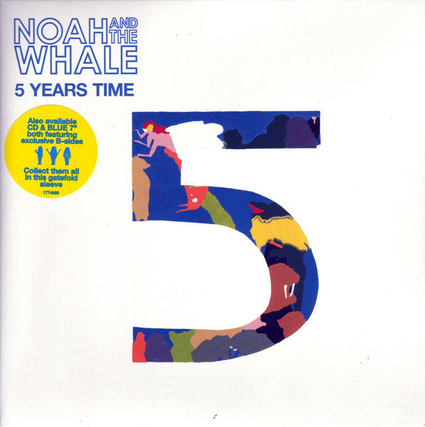 "Noah And The Whale : 5 Years Time (7"", Single, Gat)"